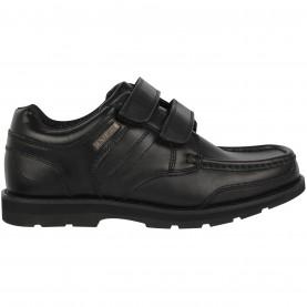 юношески,обувки,детски,обувки,kangol,harrow,strapped,shoes,juniors,black