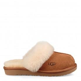 детски,пантофи,чехли,ugg,children,girls,cozy,2,slippers,chestnut,2