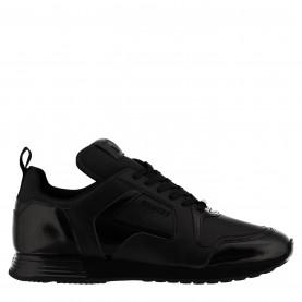 маратонки,мъжки,маратонки,cruyff,lusso,trainers,black,leather