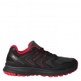 мъжки,маратонки,мъжки,маратонки,karrimor,caracal,mens,trail,running,shoes,black,grey,red