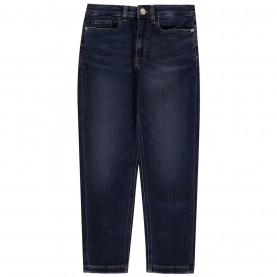 дънки,детски,дънки,calvin,klein,calvin,klein,relaxed,high,rise,jeans,save,dark