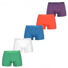 боксерки,коледни,джунджурии,мъжко,бельо,lee,cooper,boxers,5,pack,bright