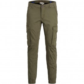 юношески,панталони,детски,панталони,jack,and,jones,paul,flake,slim,stretch,cuffed,cargo,pants,junior,olive,night