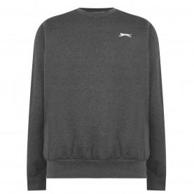 мъжка,поларена,блуза,мъжки,полари,мъжки,блузи,slazenger,fleece,crew,sweater,mens,charcoal,marl