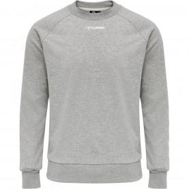 мъжка,блуза,мъжки,полари,мъжки,блузи,hummel,sam,crew,neck,sweatshirt,mens,grey,2006