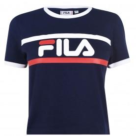 дамска,тениска,дамски,тениски,fila,ash,crop,t,shirt,ladies,black