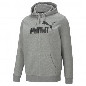 мъжки,суичър,мъжки,горнища,с,качулка,мъжки,полари,puma,no1,zip,hoodie,mens,grey