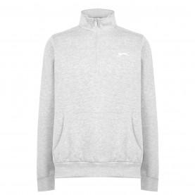 мъжка,поларена,блуза,мъжки,полари,мъжки,блузи,slazenger,quarter,zip,fleece,top,mens,grey,marl