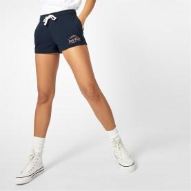 къси,панталони,дамски,къси,панталони,jack,wills,bea,logo,sweat,shorts,navy