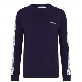 тениска,мъжки,пижами,ben,sherman,long,sleeve,t,shirt,navy