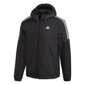 мъжко,яке,мъжки,якета,adidas,3,stripe,essential,hooded,jacket,mens,black