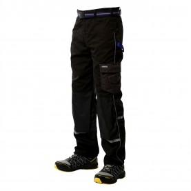 мъжки,панталони,работни,панталони,работни,облекла,всички,работни,облекла,goodyear,reflective,trim,workwear,trousers,mens,black