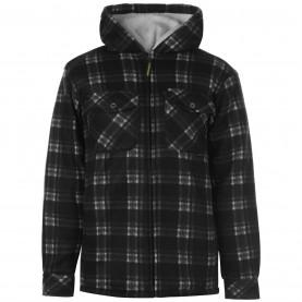мъжки,суичър,работни,облекла,работни,якета,и,жилетки,всички,работни,облекла,мъжки,якета,dunlop,full,zip,checked,hoodie,mens,blac