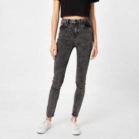 дънки,дамски,дънки,jack,wills,jagger,high,rise,super,skinny,jeans,worn,black