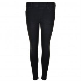 клин,дамски,чорапогащи,и,клинове,дамски,фитнес,облекла,дамски,ежедневни,облекла,true,religion,denim,leggings,black,1001