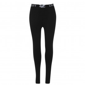 клин,дамски,клинове,дамски,пижами,lyle,and,scott,waistband,leggings,jet,black,z865