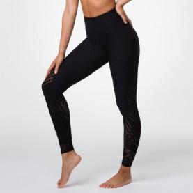 клин,дамски,клинове,дамски,пижами,onzie,selenite,leggings,black,textured