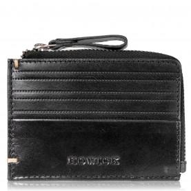 портфейли,и,портмонета,мъжки,чанти,и,портмонета,аксесоари,на,разпродажба,howick,zip,coin,pouch,black