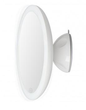 LED, огледало, увеличаващо, десетократно, лице, стена, едностранно, вакуум, всякакви, повърхности