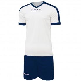 мъжки,екипи,всички,футболни,облекла,футболни,анцузи,givova,kit,revolution,football,jersey,with,shorts,white,navy