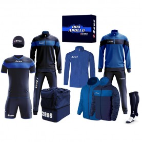 мъжки,екипи,всички,футболни,облекла,футболни,анцузи,zeus,apollo,football,kit,teamwear,box,12,pieces,navy,blue