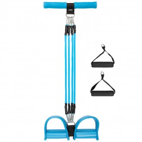 фитнес,оборудване,фитнес,аксесоари,йога,и,пилатес,jelex,fit,sit,sit,up,pull,rope,with,foot,pedal,blue