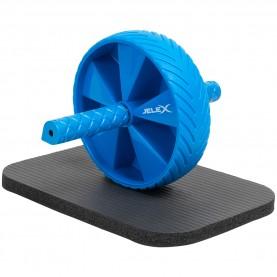 фитнес,оборудване,фитнес,аксесоари,йога,и,пилатес,jelex,sixpack,ab,wheel,black,blue