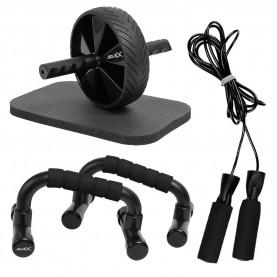 фитнес,оборудване,фитнес,аксесоари,йога,и,пилатес,jelex,workout,trio,3in1,push,up,bars,skipping,rope,ab,wheel