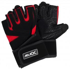 фитнес,оборудване,фитнес,аксесоари,йога,и,пилатес,jelex,power,premium,padded,training,gloves,black,red