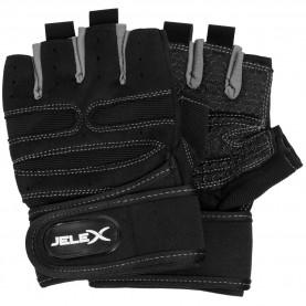 фитнес,оборудване,фитнес,аксесоари,йога,и,пилатес,jelex,fit,padded,training,gloves,black,gray