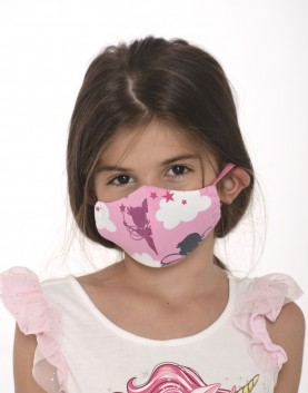 Трислойна маска - момиче