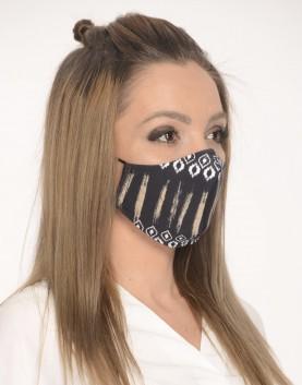 Двуслойна маска с метален стек