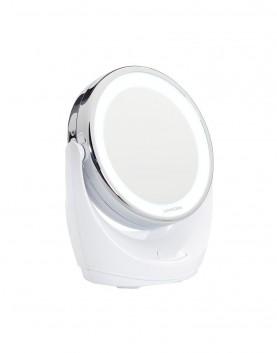 LED, огледало, увеличаващо, десетократно, лице