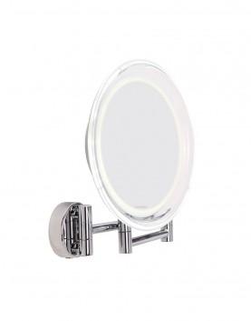 LED, огледало, увеличаващо, десетократно, лице,стена, едностранно