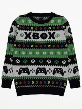 детски,пуловер,коледа,xbox,george,плетен,памук,контролер